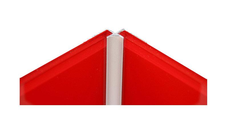 Lustrolite Internal Corner Profile (Matt Aluminium)