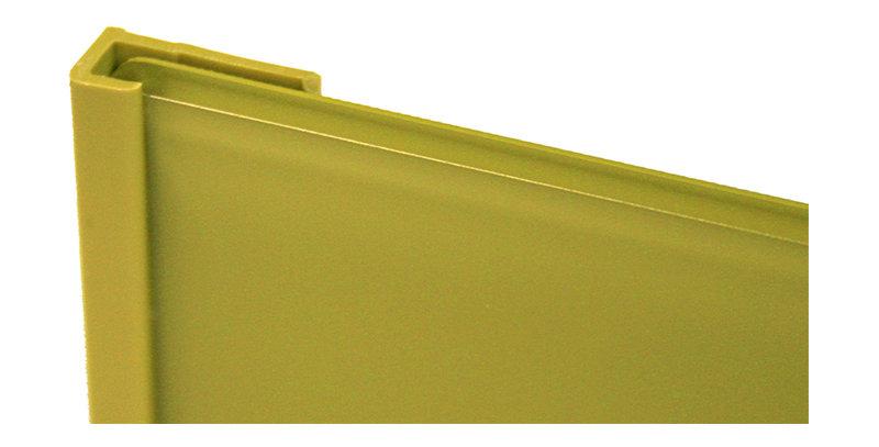 Lustrolite Edge Cap Profile (Choose a size and colour)