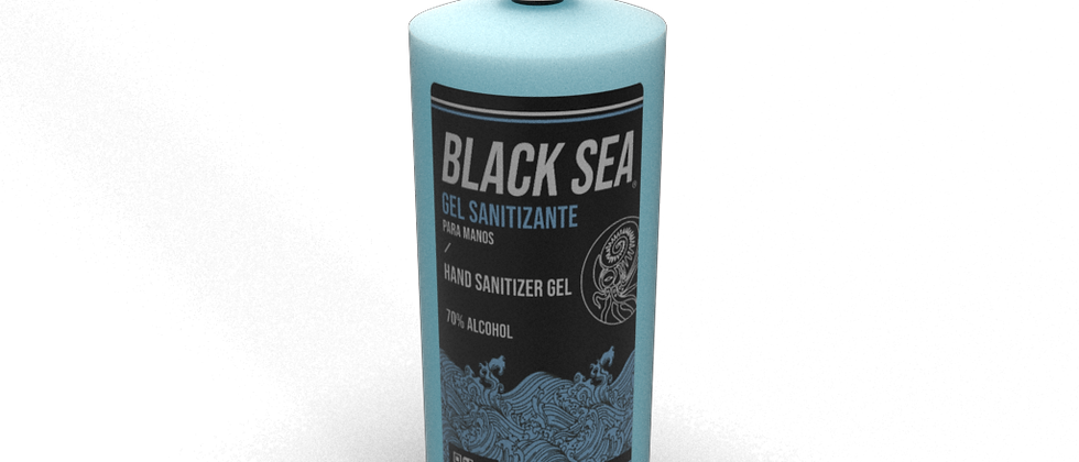BLACK SEA GEL SANITIZANTE 1L