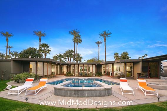 Backyard Pool View