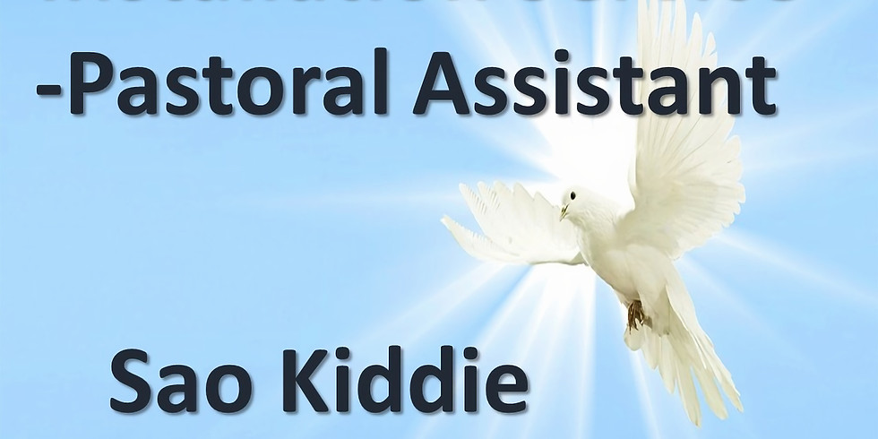 Installation of new Pastoral Assistant