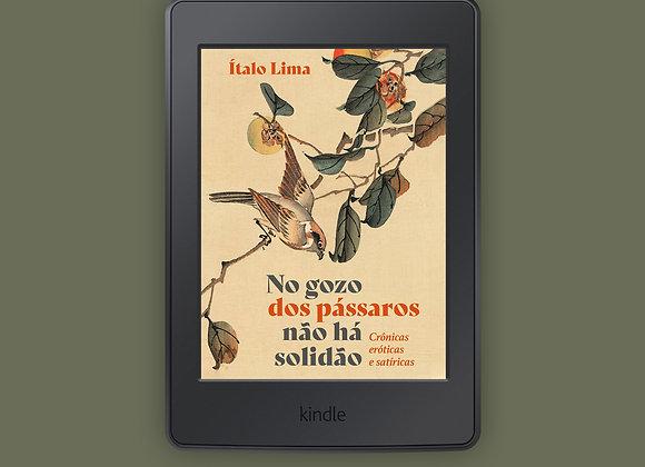 E-book 'No gozo dos pássaros não há solidão'