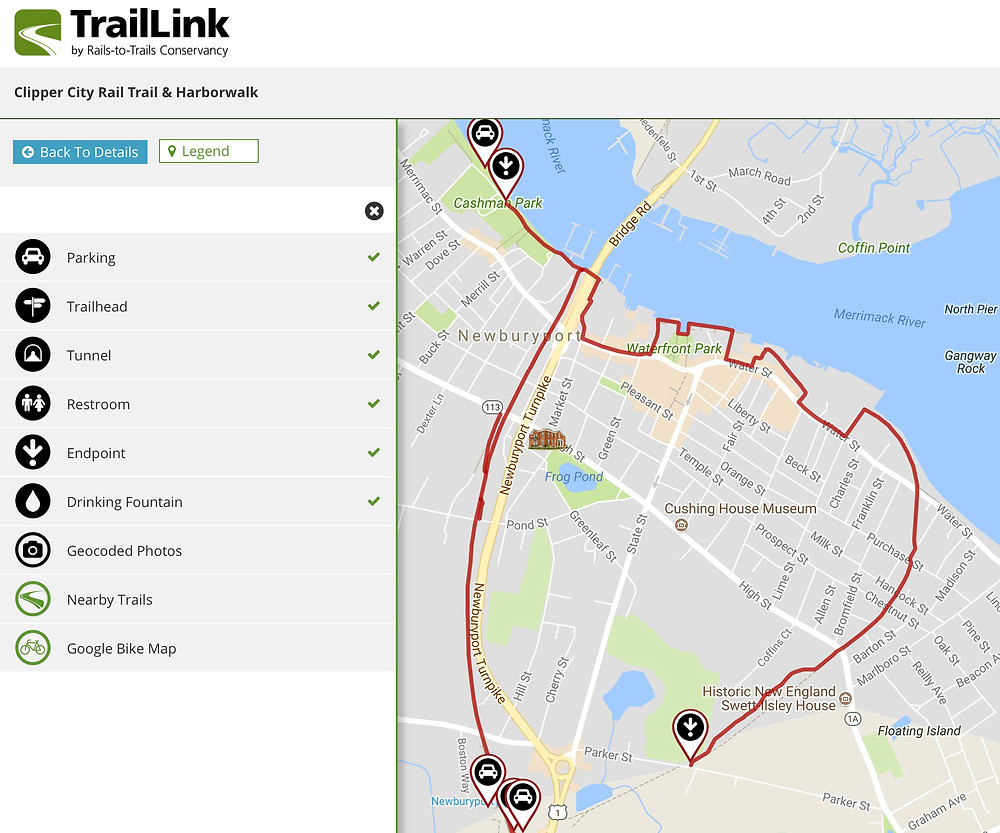 Clipper City Rail Trail & Harborwalk