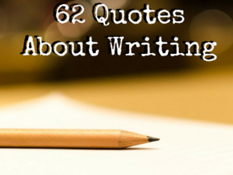 62 Quotes About Writing