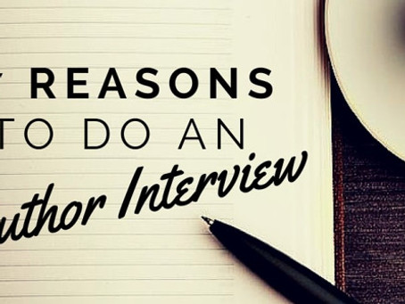 7 Reasons To Do An Author Interview