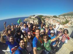 Brasileiros em Dubrovnik