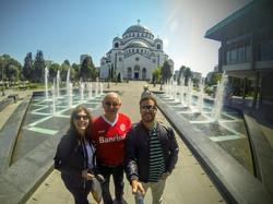 Brasileiros em Belgrado