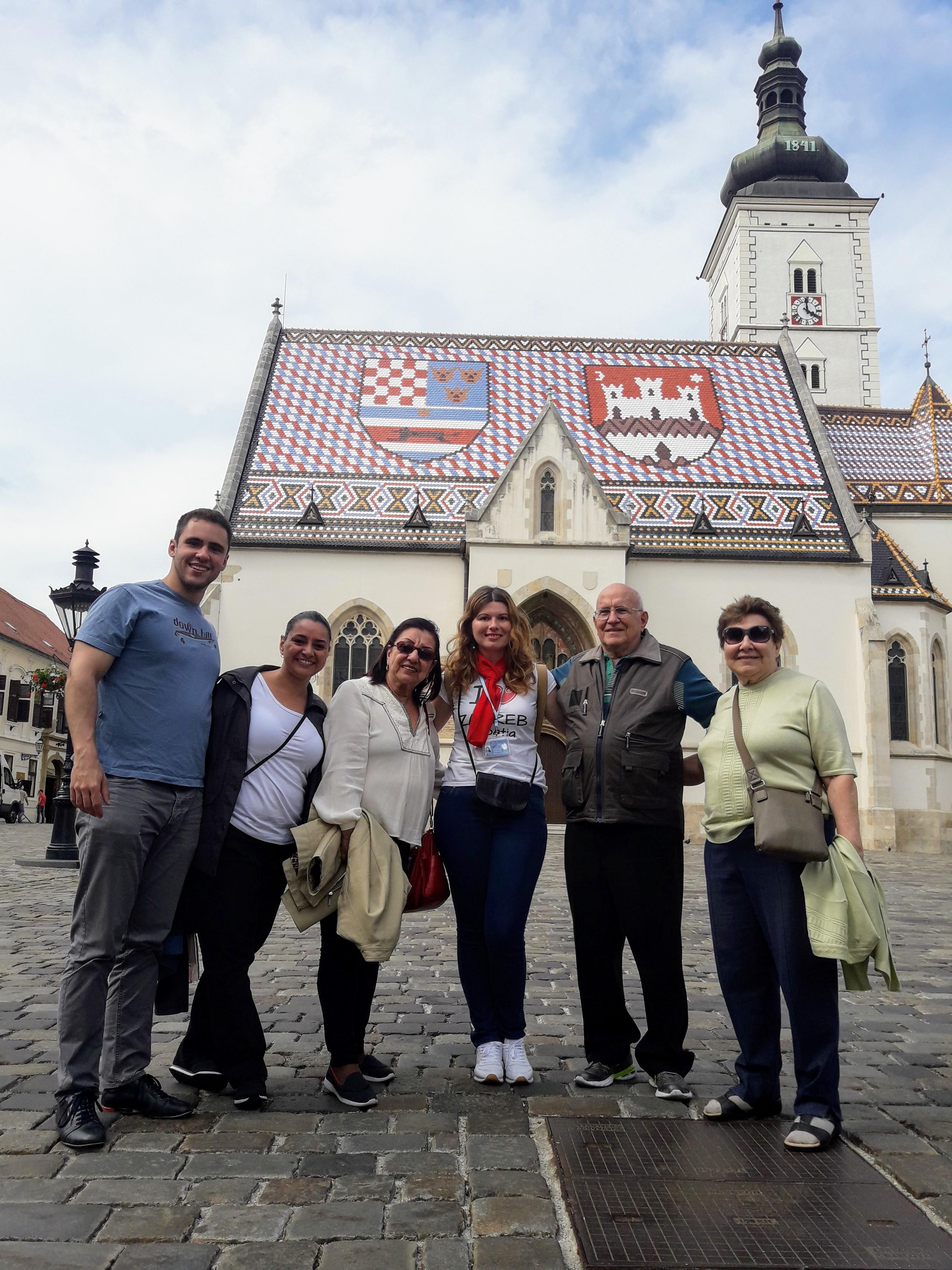 Brasileiros em Zagreb