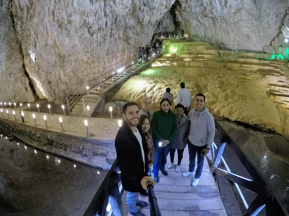 Brasileiros na Caverna Stopica