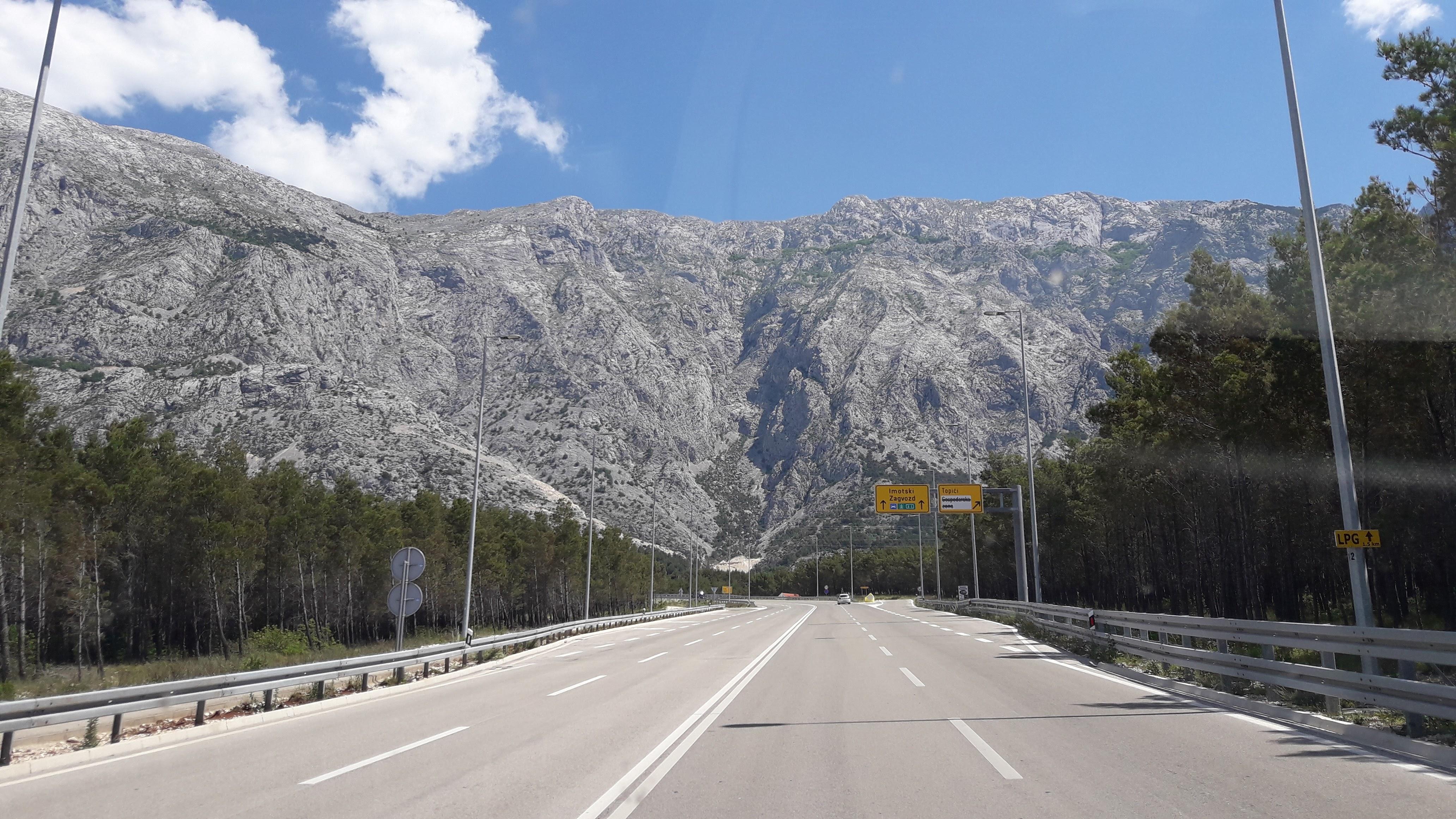 Estrada na Croácia
