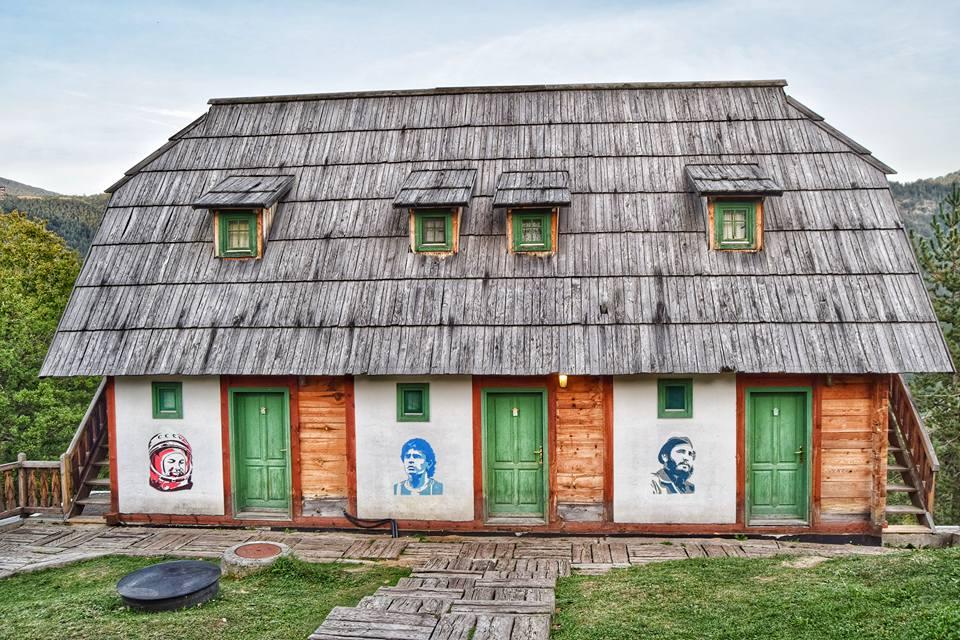 Wooden town - Mecavnik