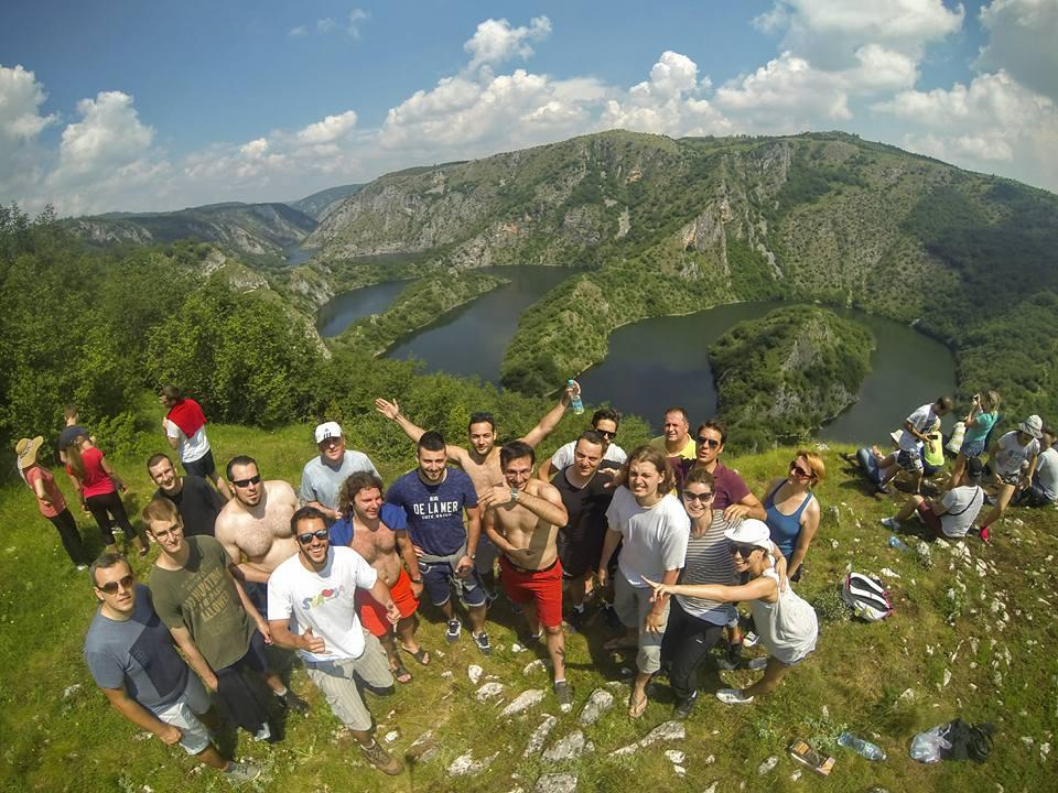 Viajantes em Uvac