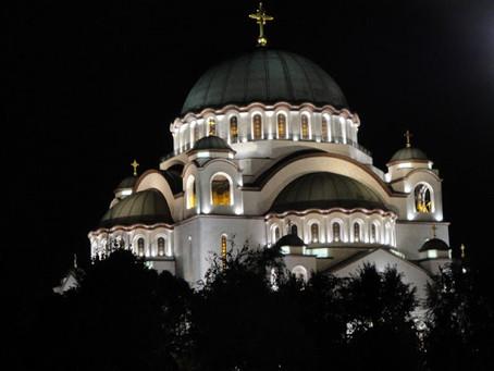 TEMPLO DE SÃO SAVA - imponência e religiosidade em Belgrado