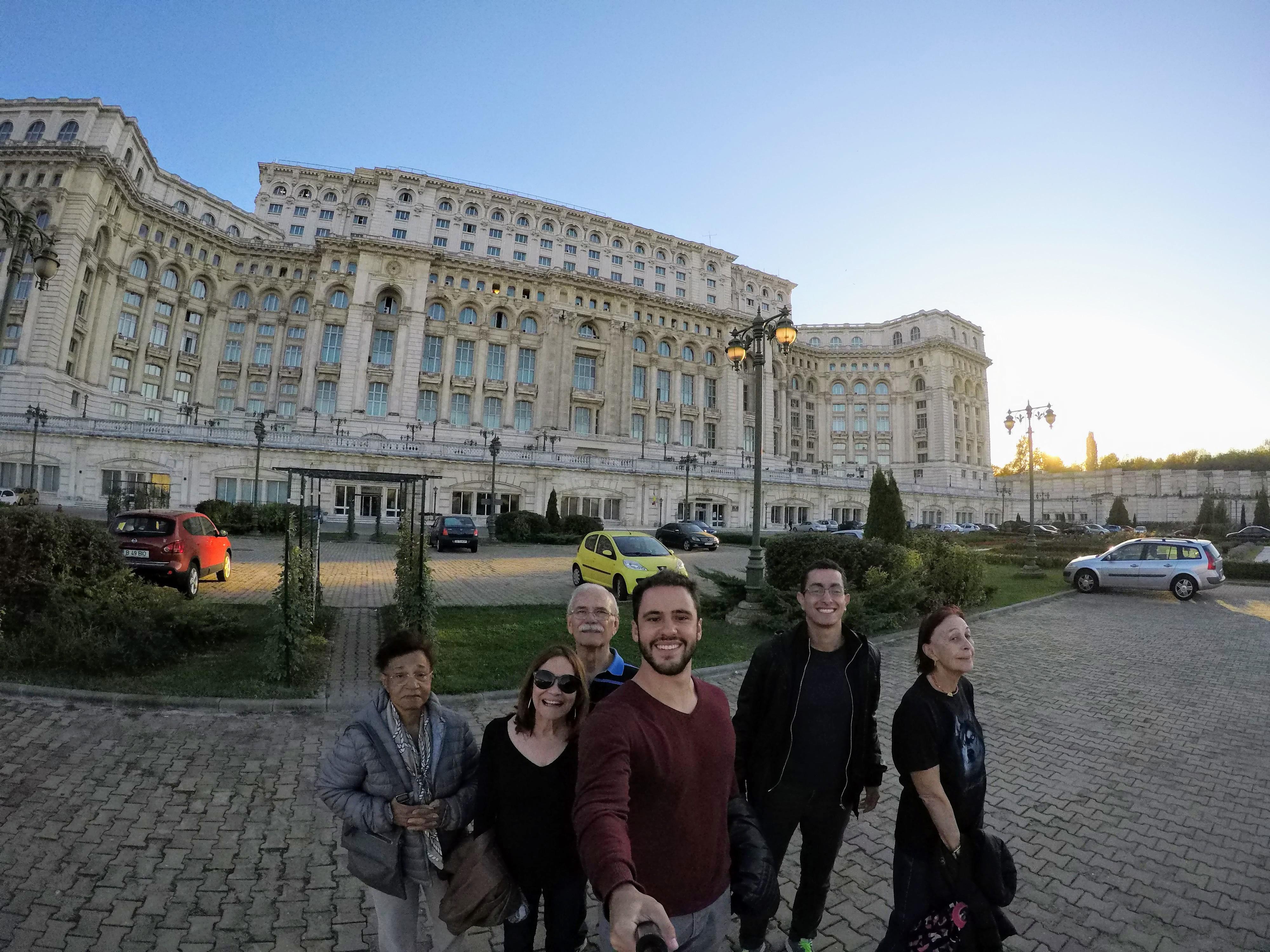 Brasileiros em Bucareste