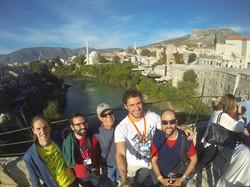 Brasileiros em Mostar