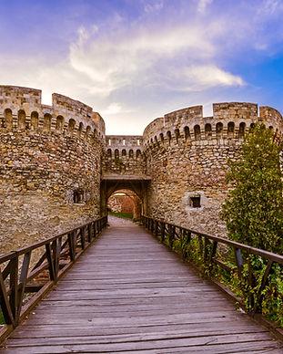 Kalemegdan fortress Beograd - Serbia - a