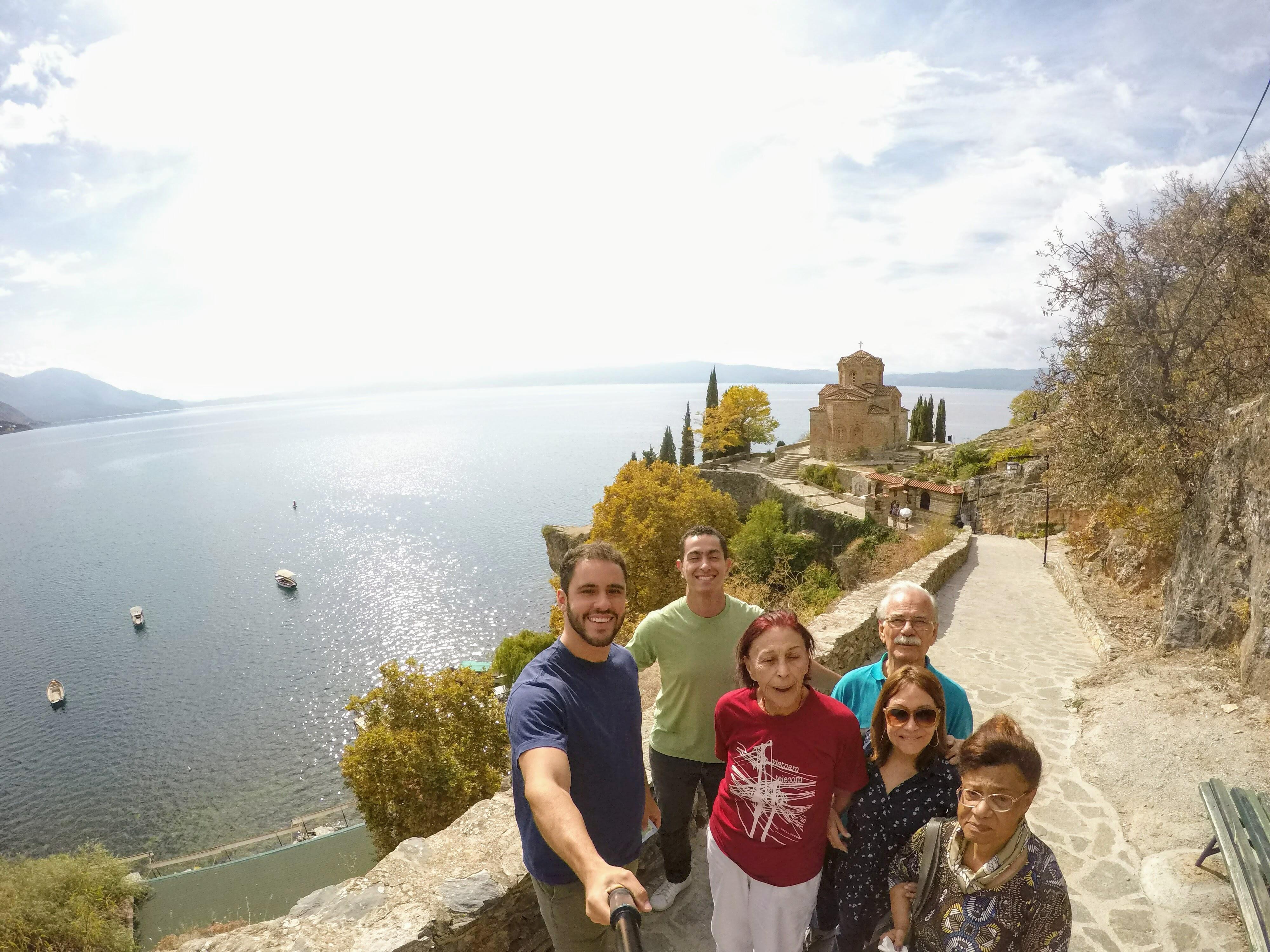 Brasileiros em Ohrid