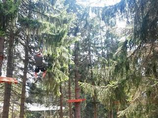 Adrenalin park na Zlataru
