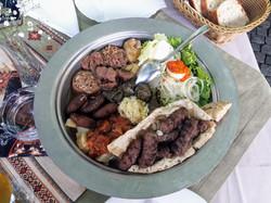 Comida em Mostar