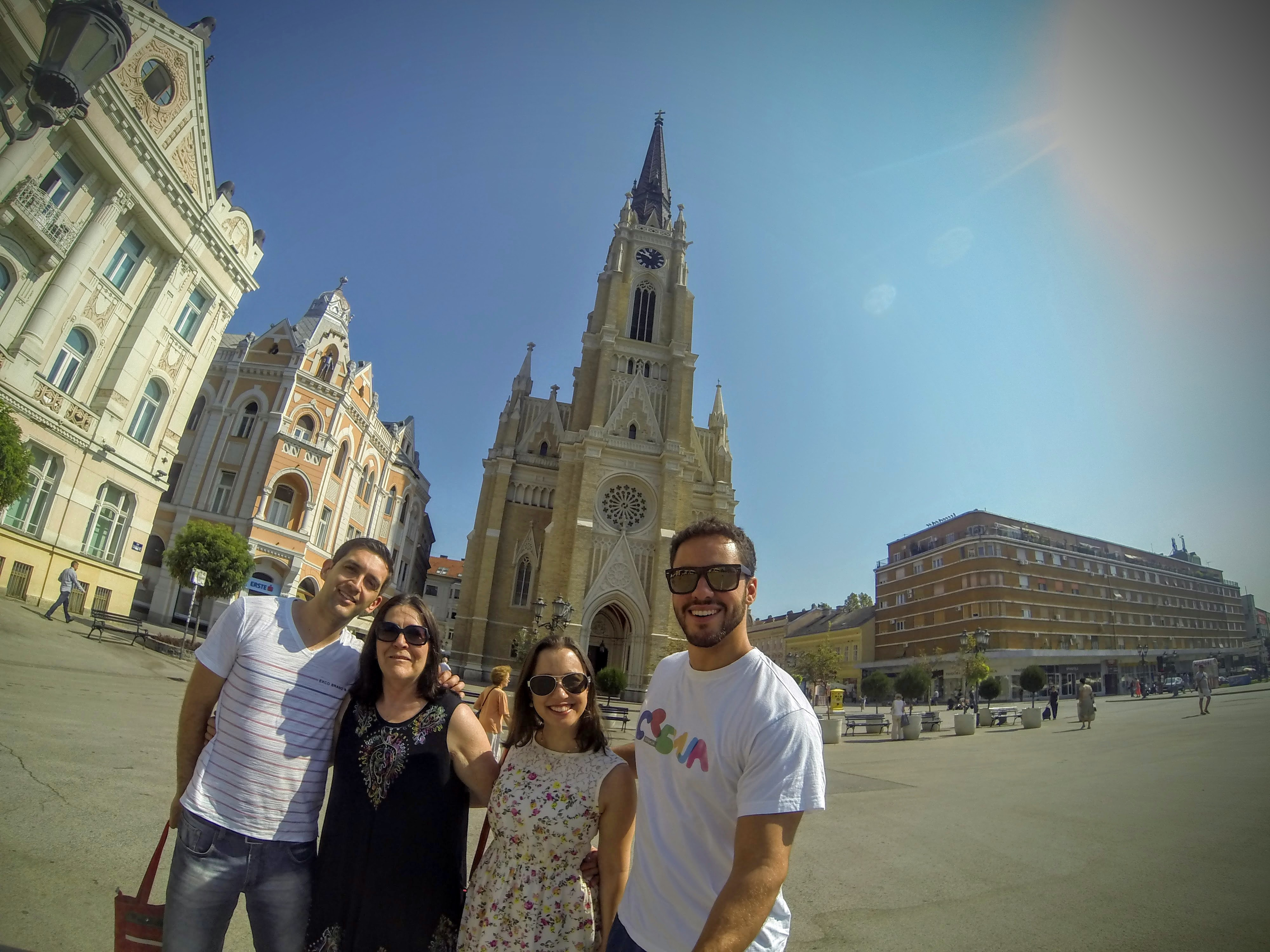Brasileiros em Novi Sad