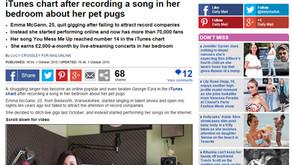 Interview: Daily Mail: 'Singer Beats Superstar George Ezra'
