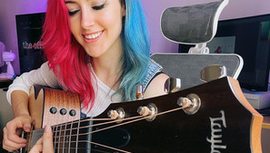 Emma teams up with Taylor Guitars