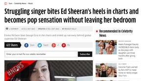 Interview: The Mirror - 'Struggling Singer Bites Ed Sheerans Heels'
