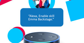 Alexa, Open 'Emma Backstage'