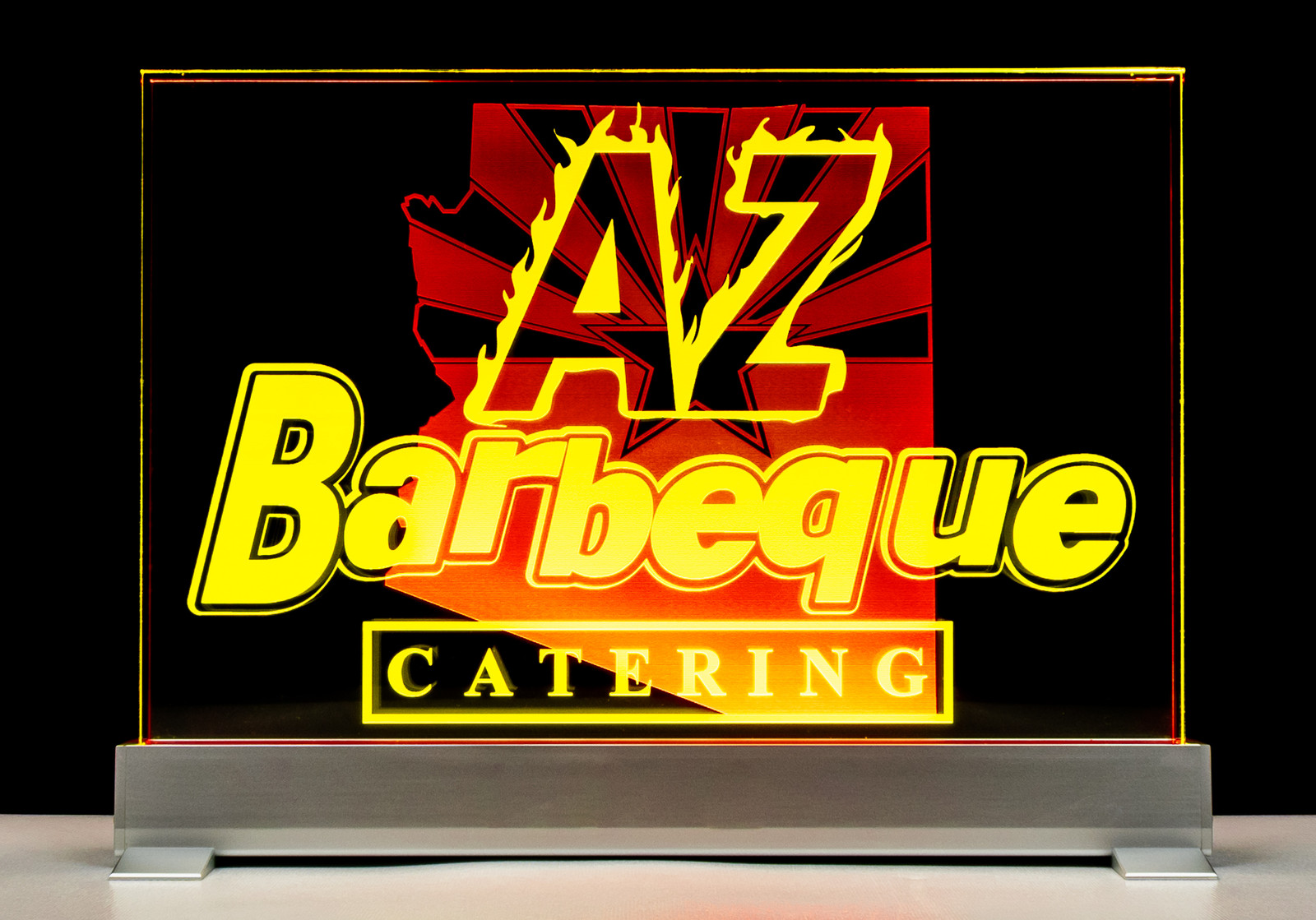 A Z Bbq.Az Bbq 12 Inch Yellow And Red