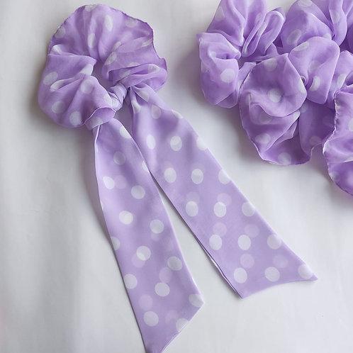 Grape Soda Scrunchie and Hair Tie