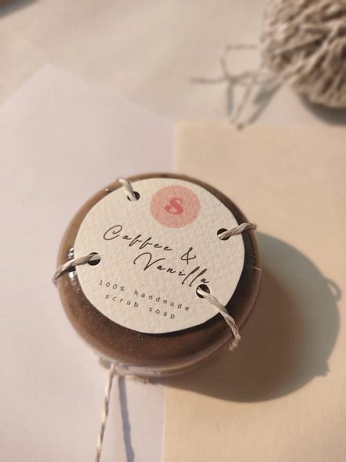 Coffee & Vanilla Scrub Soap