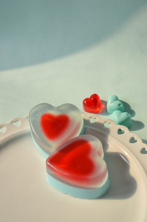 Heart Fusion Soaps - Set of Two