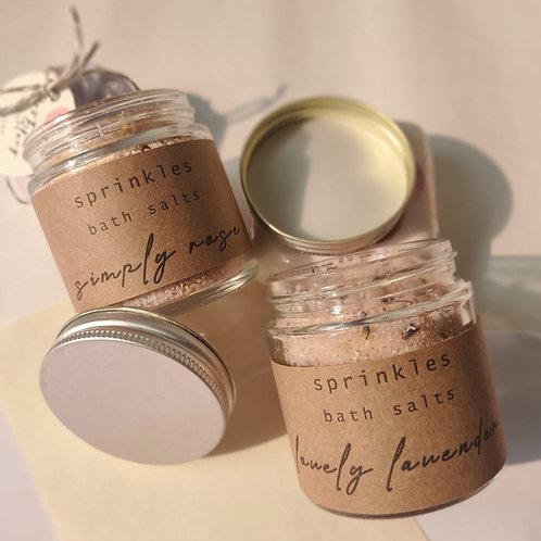 Set of Two - Bath Salts