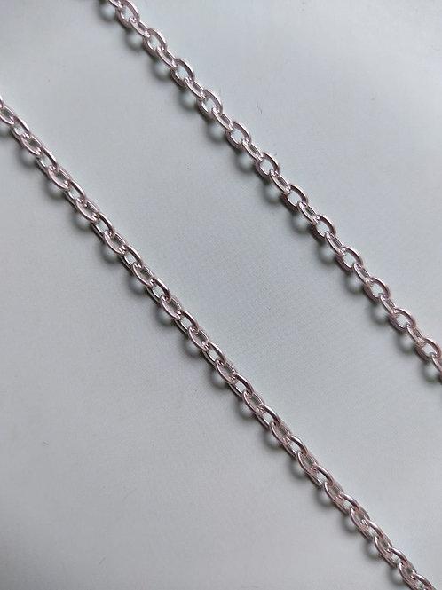 Chunky Silver Bracelet Chain