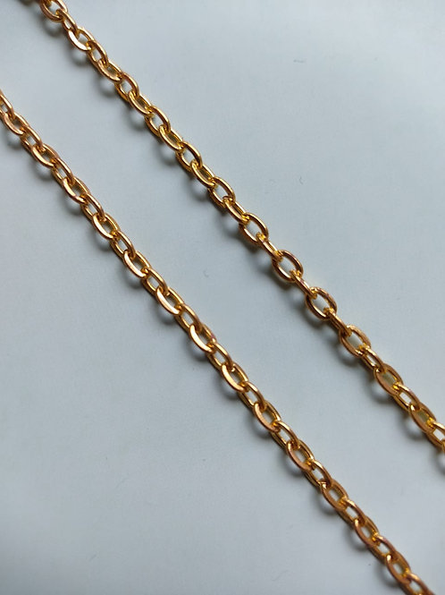 Chunky Golden Bracelet Chain
