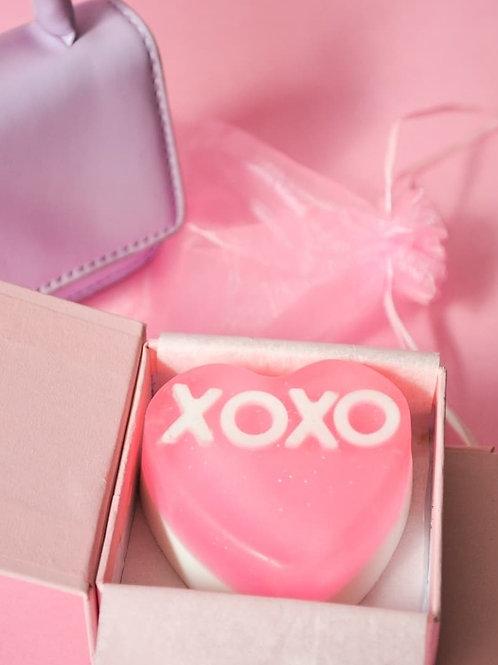 XOXO Strawberry Soap