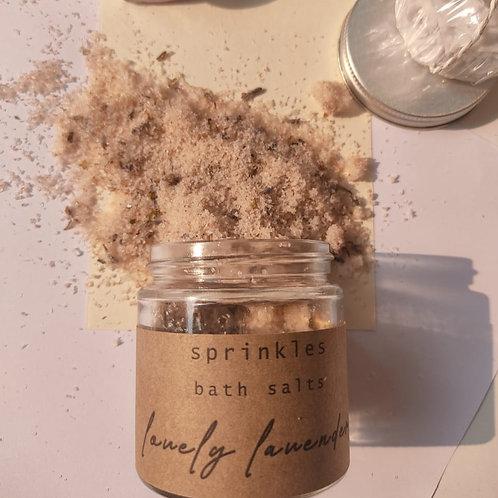 Lovely Lavender Bath Salts