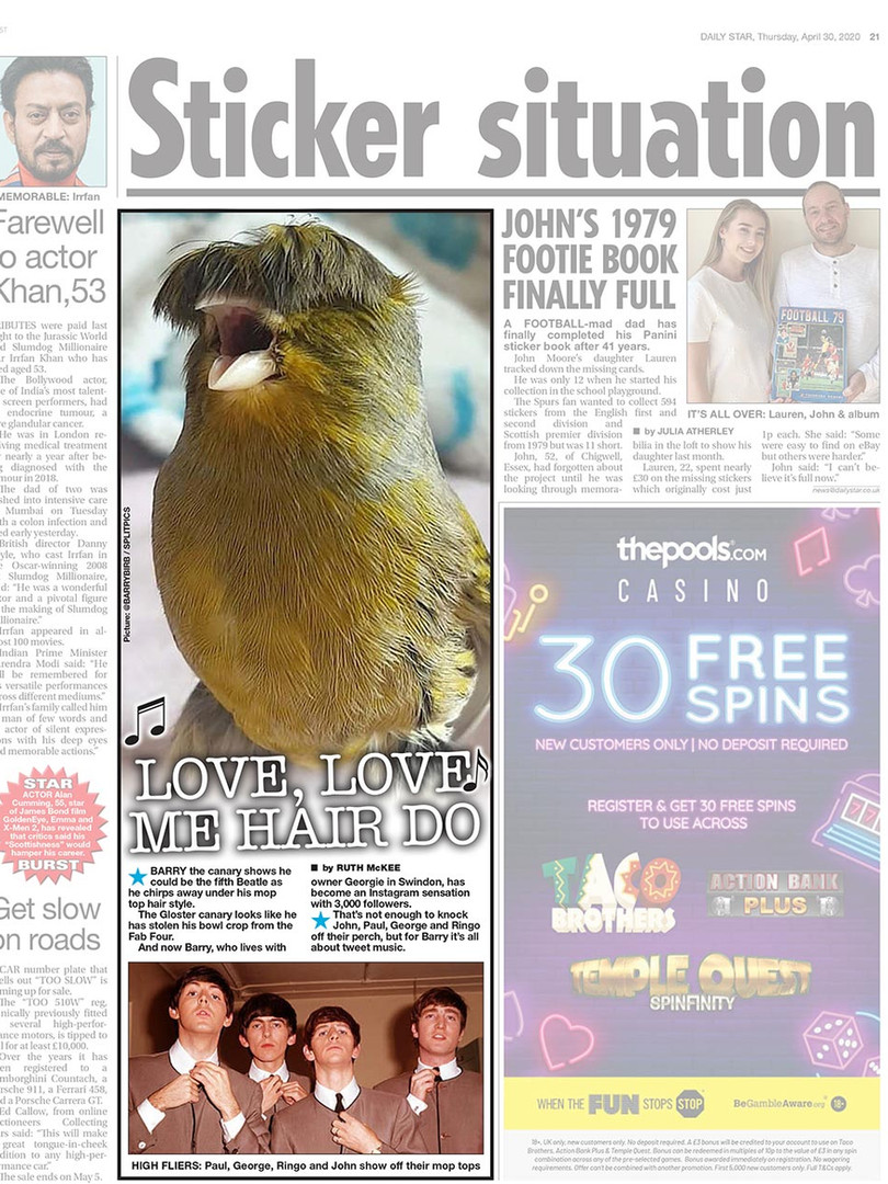 Splitpics UK Press example 1