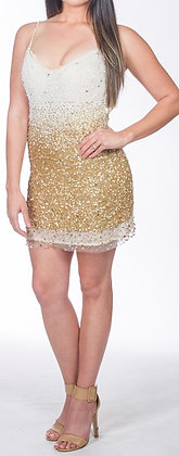 Unique Champagne Dress