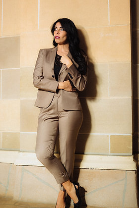 Desert Sand Business Suit