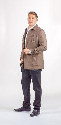 Brown Casual Coat