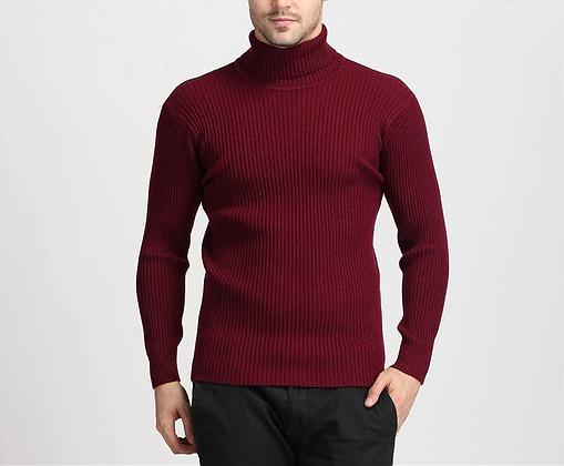 Winter Wool Turtleneck Sweater