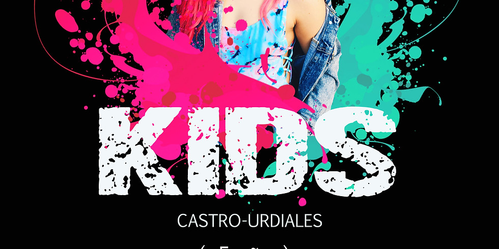 Dancehall KIDS en CASTRO URDIALES