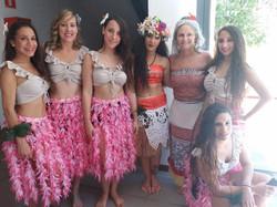 vaiana y hawaianas