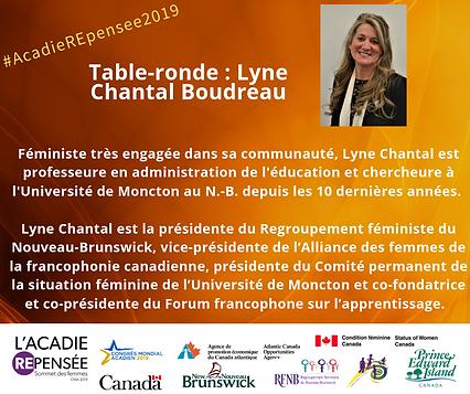 Canevas Facebook LCB - Sommet des femmes