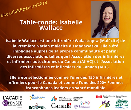 Canevas Facebook Isabelle Wallace - Somm