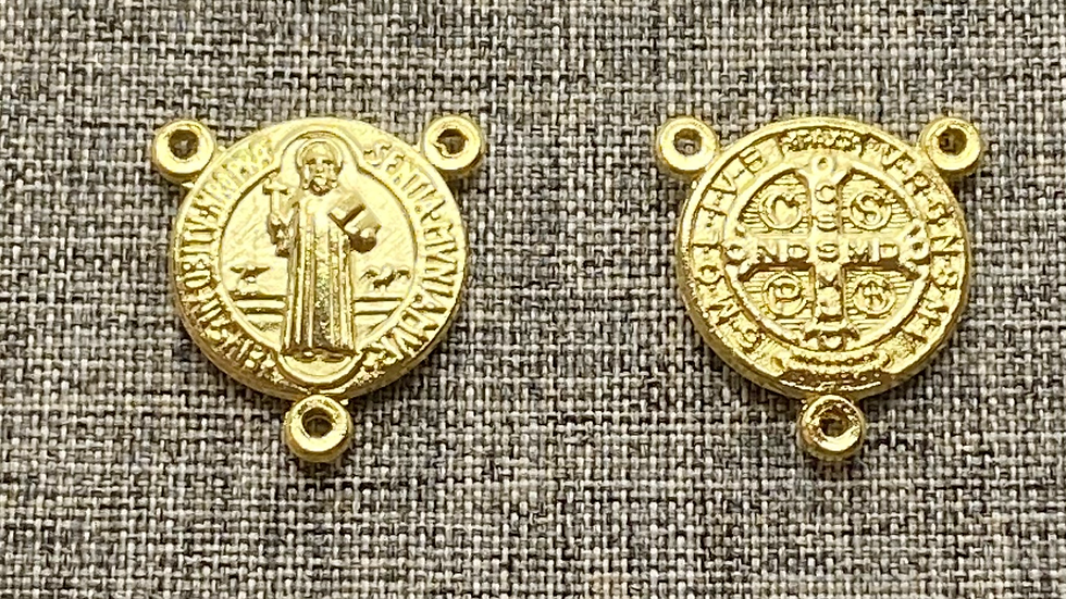 St. Benedict rosary connector