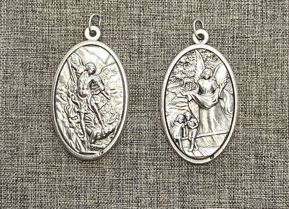 St. Michael medal /Gardian Angel