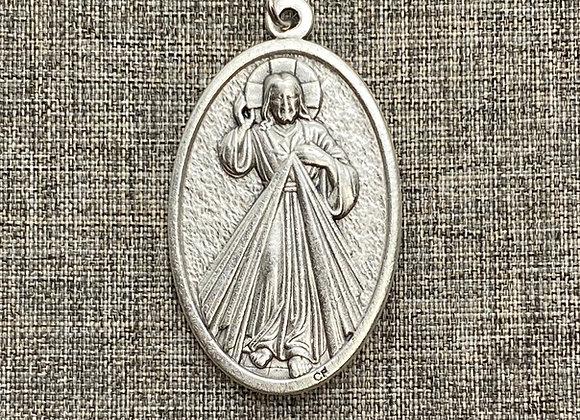 Divine Mercy medal