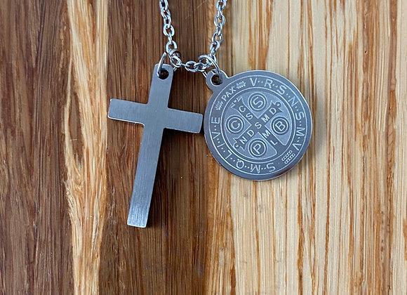 Saint Benedict medal & Cross